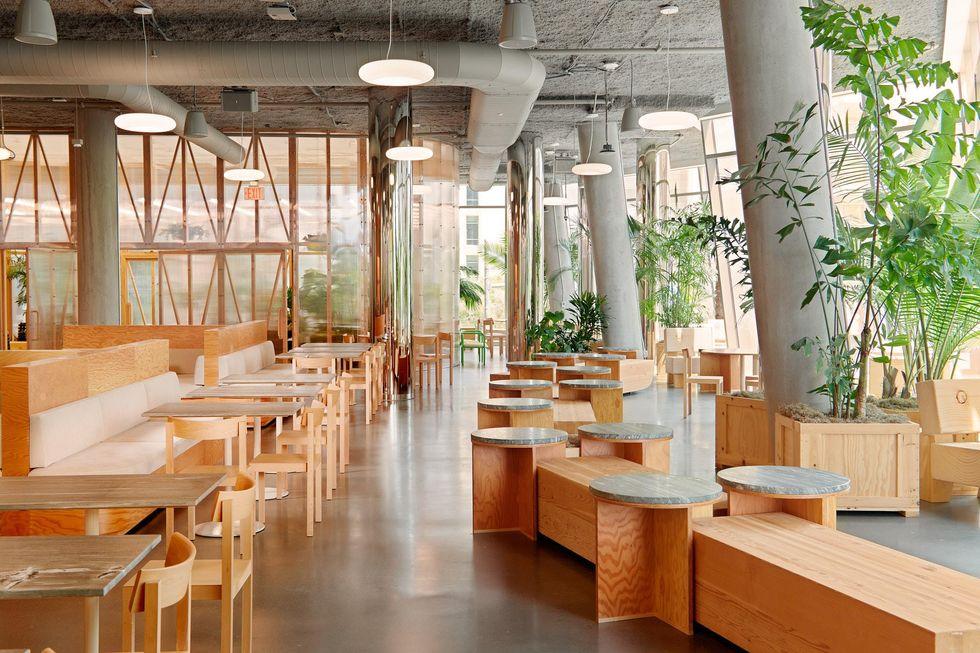 A cafe at a Dropbox Studio