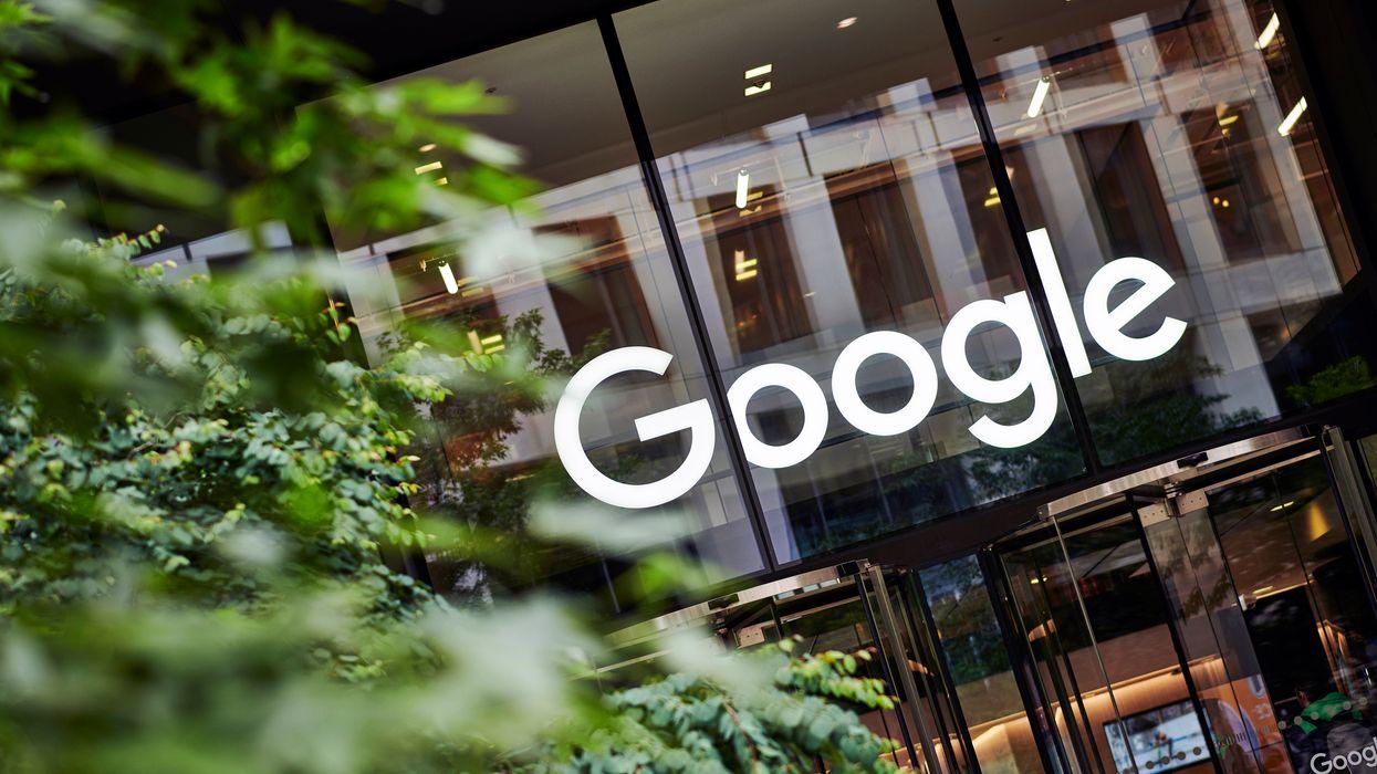 A Google office in London