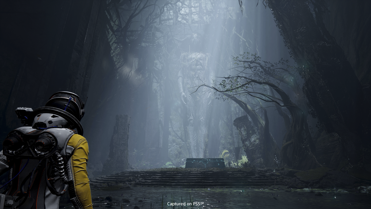A screenshot of PS5 exclusive Returnal from Sony-owned studio Housemarque.