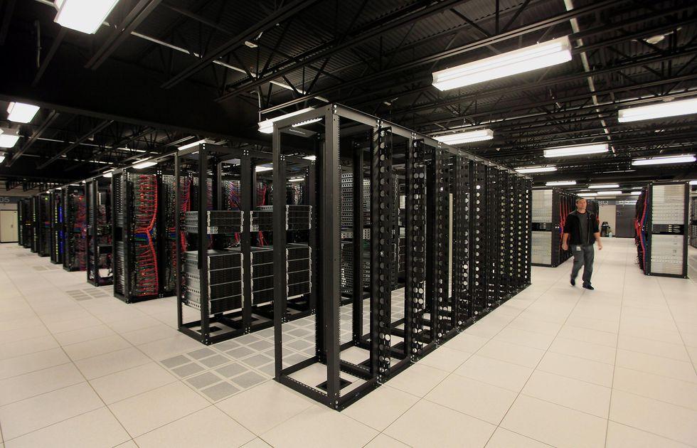 A Softlayer data center in Dallas, Texas.