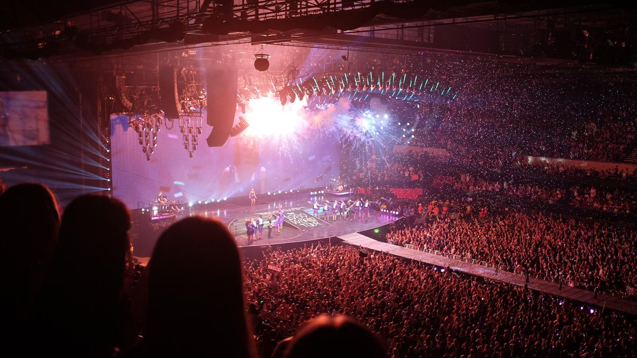 A Taylor Swift concert in 2015