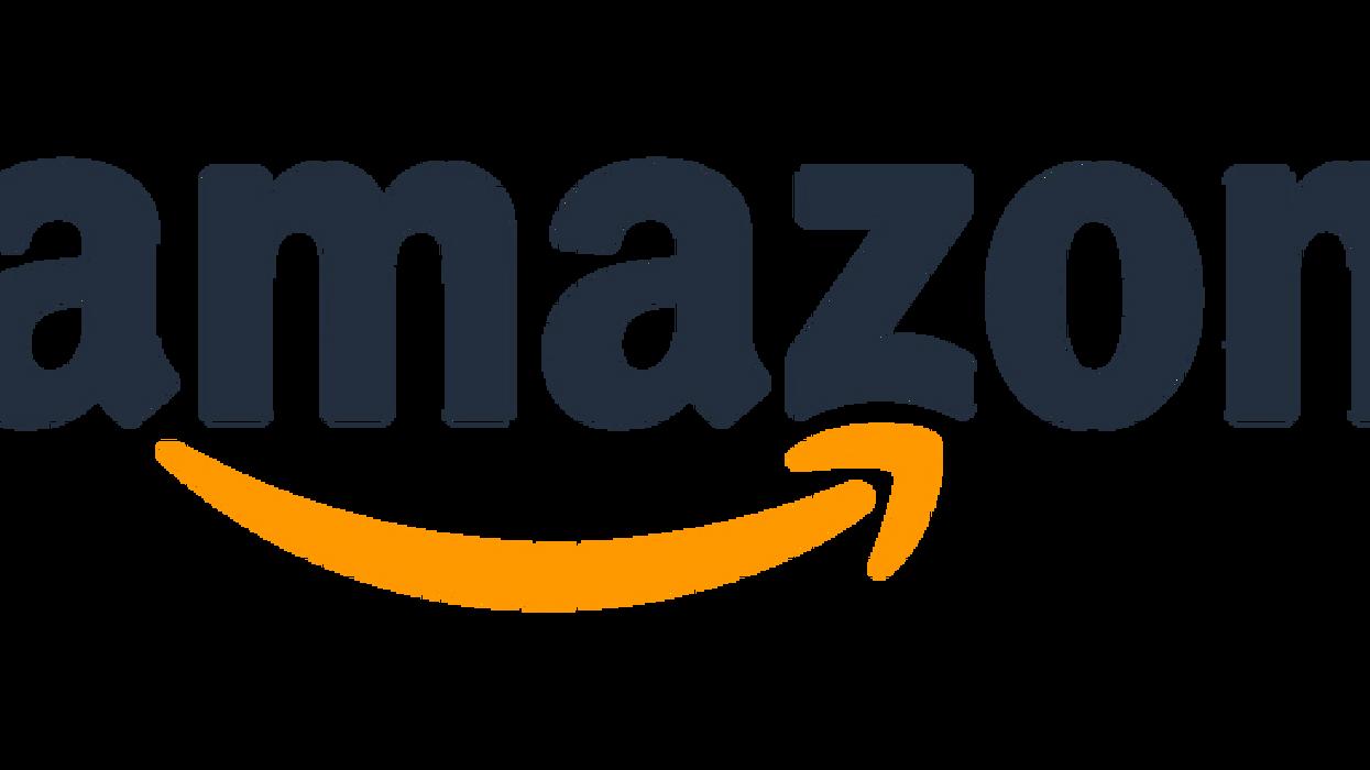 The Amazon logo.