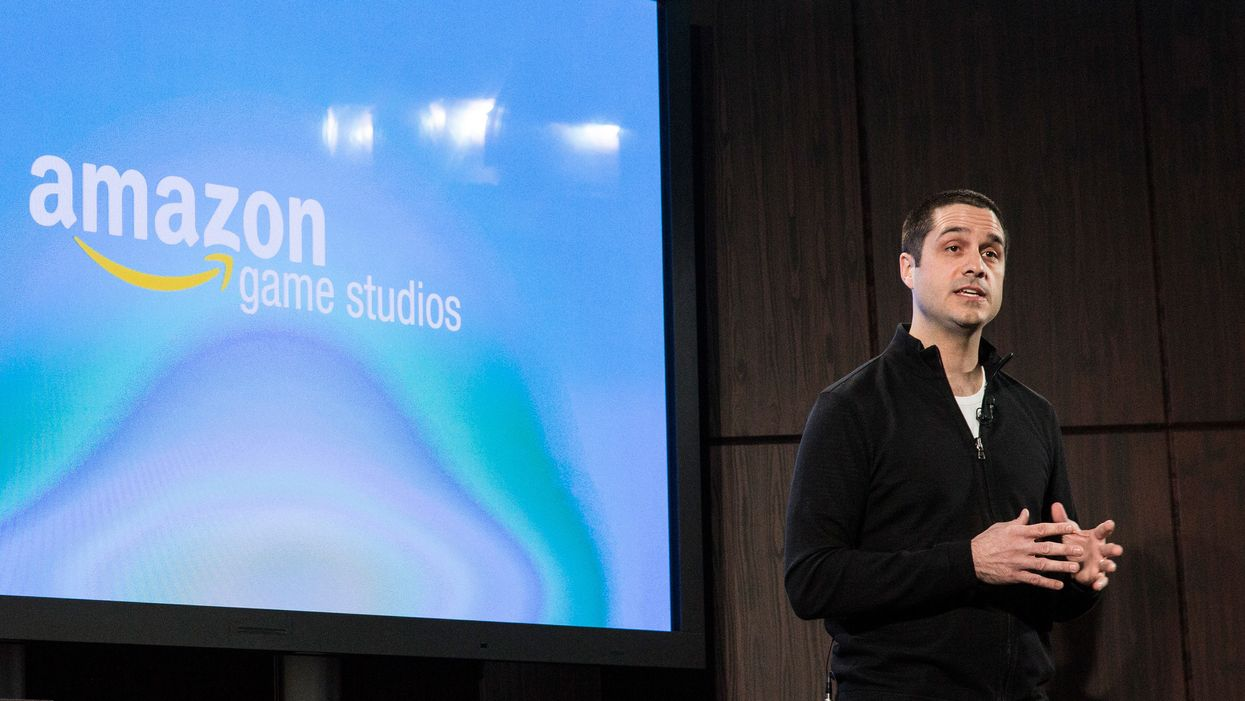 Amazon's vice president of games, Mike Frazzini