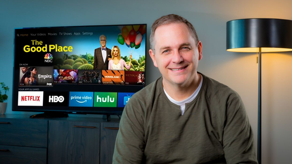 Amazon's VP of Entertainment Devices and Services, Marc Whitten.