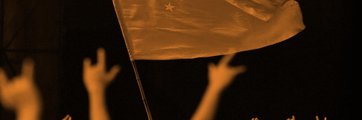 Online nationalism, meet real life