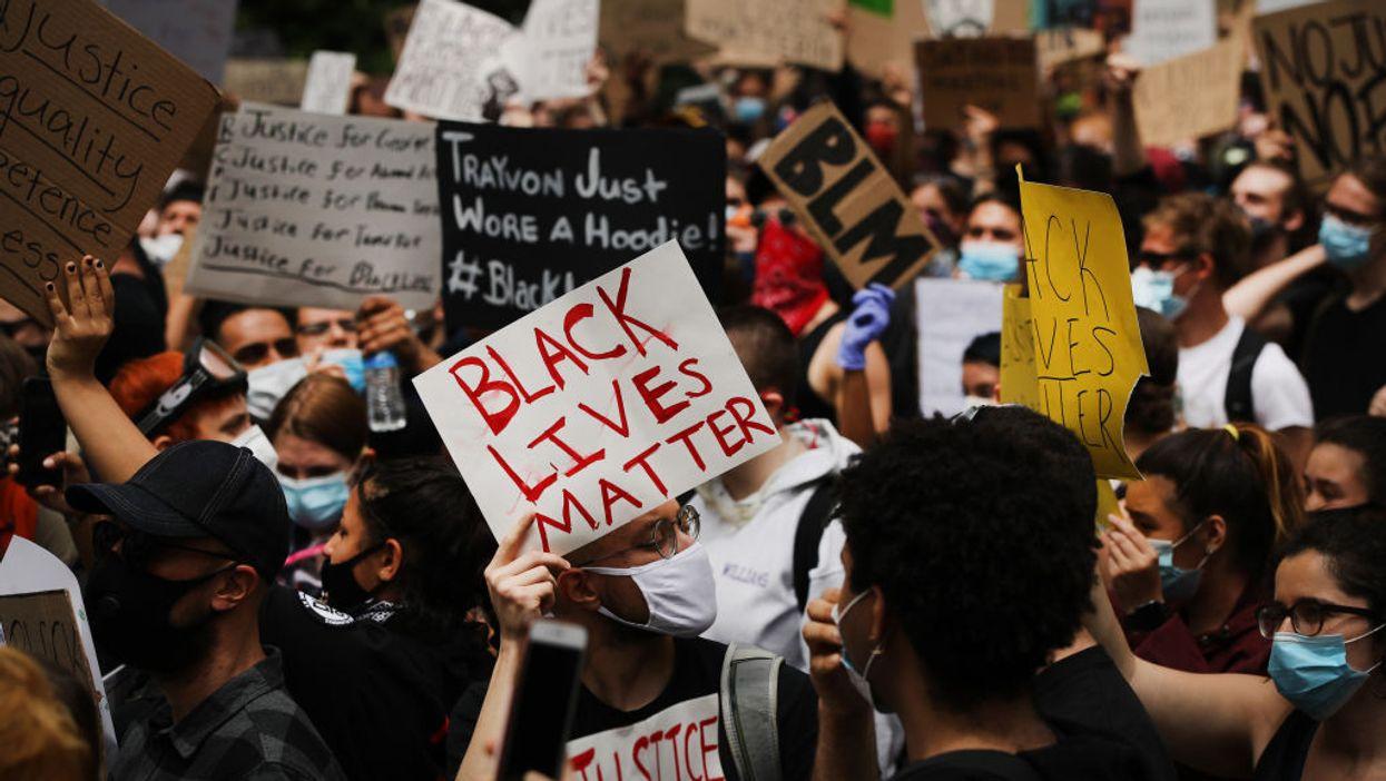 Black Lives Matter protestors