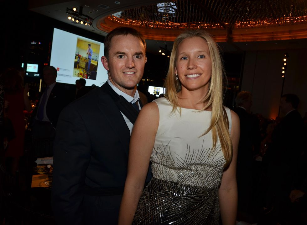Chase and Stephanie Coleman attend a New York Presbyterian Hospital fundraiser in 2016.