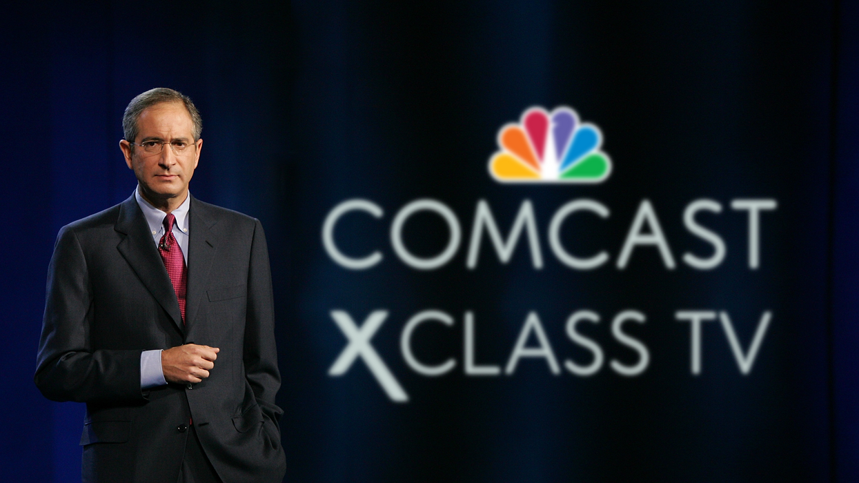 Comcast Corp. Chairman and CEO Brian L. Roberts