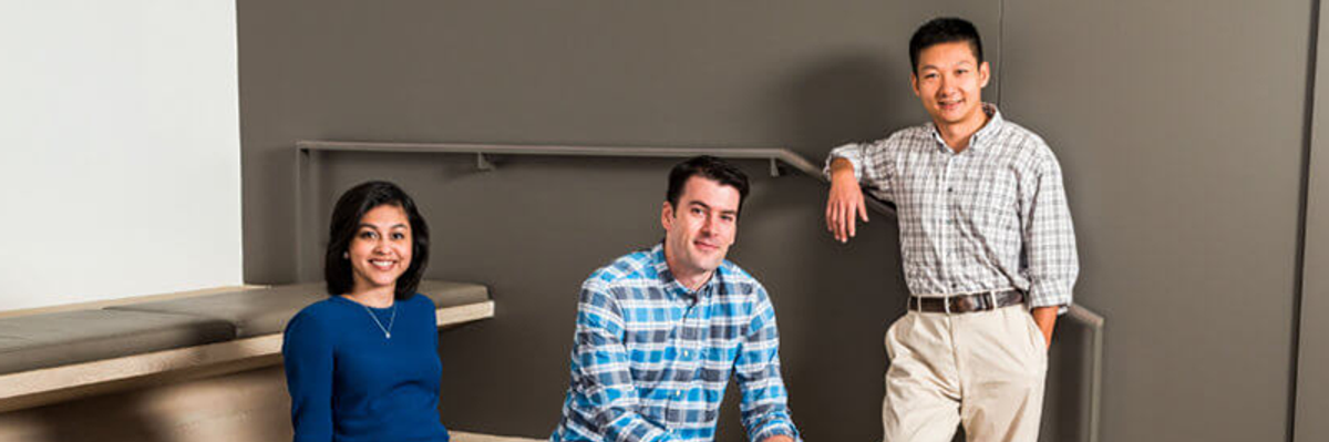 Confluent co-founders Neha Narkhede, Jay Kreps, and Jun Rao