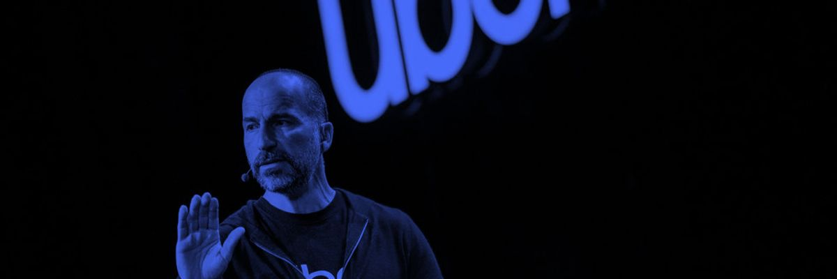 Dara Khosrowshahi, Uber CEO