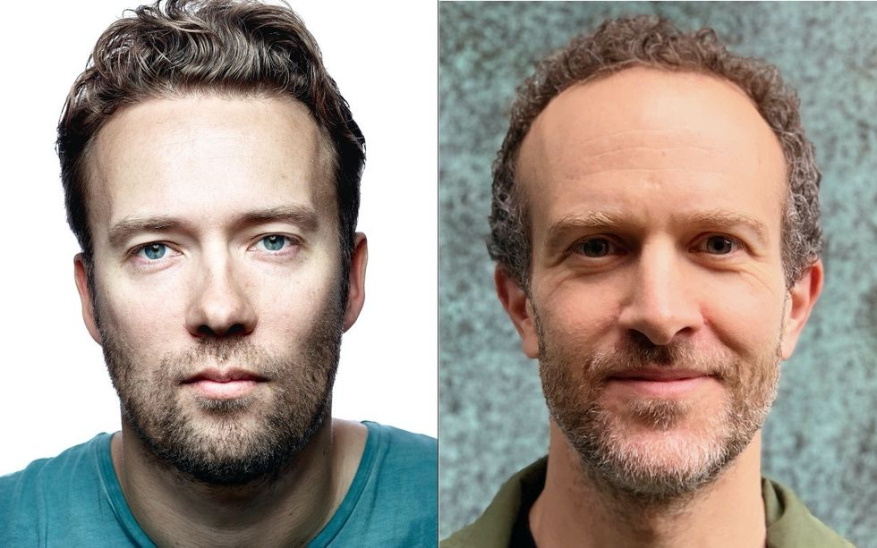 David Heinemeier Hansson and Jason Fried, the co-founders of Basecamp and co-creators of Hey.