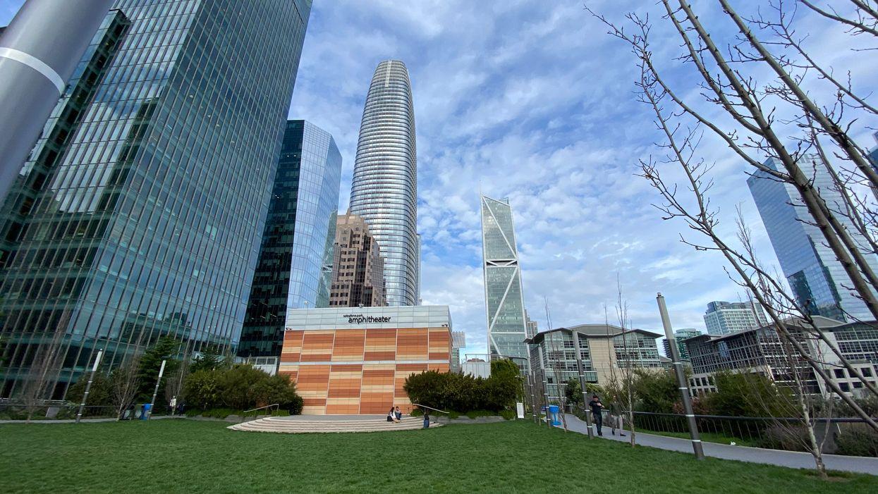 Salesforce Park in San Francisco