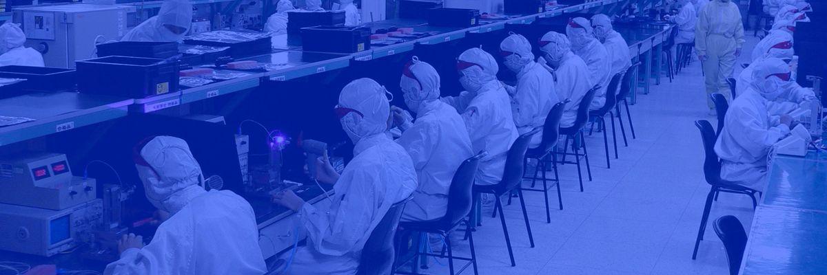 Electronics Factory in Shenzhen