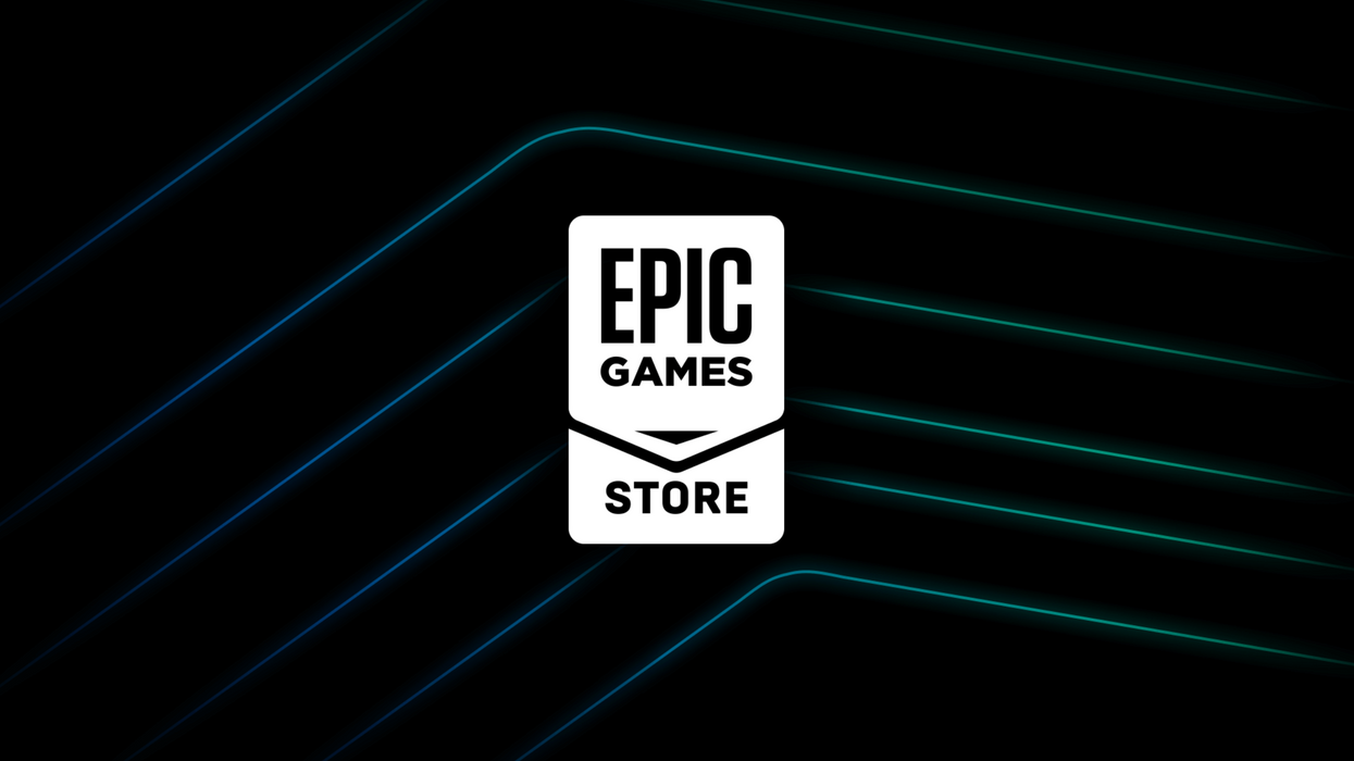 An image of the Epic Game Store logo.