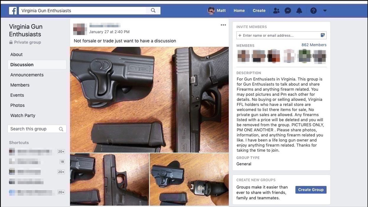 Facebook to Congress: We're (still) trying to eliminate gun sales
