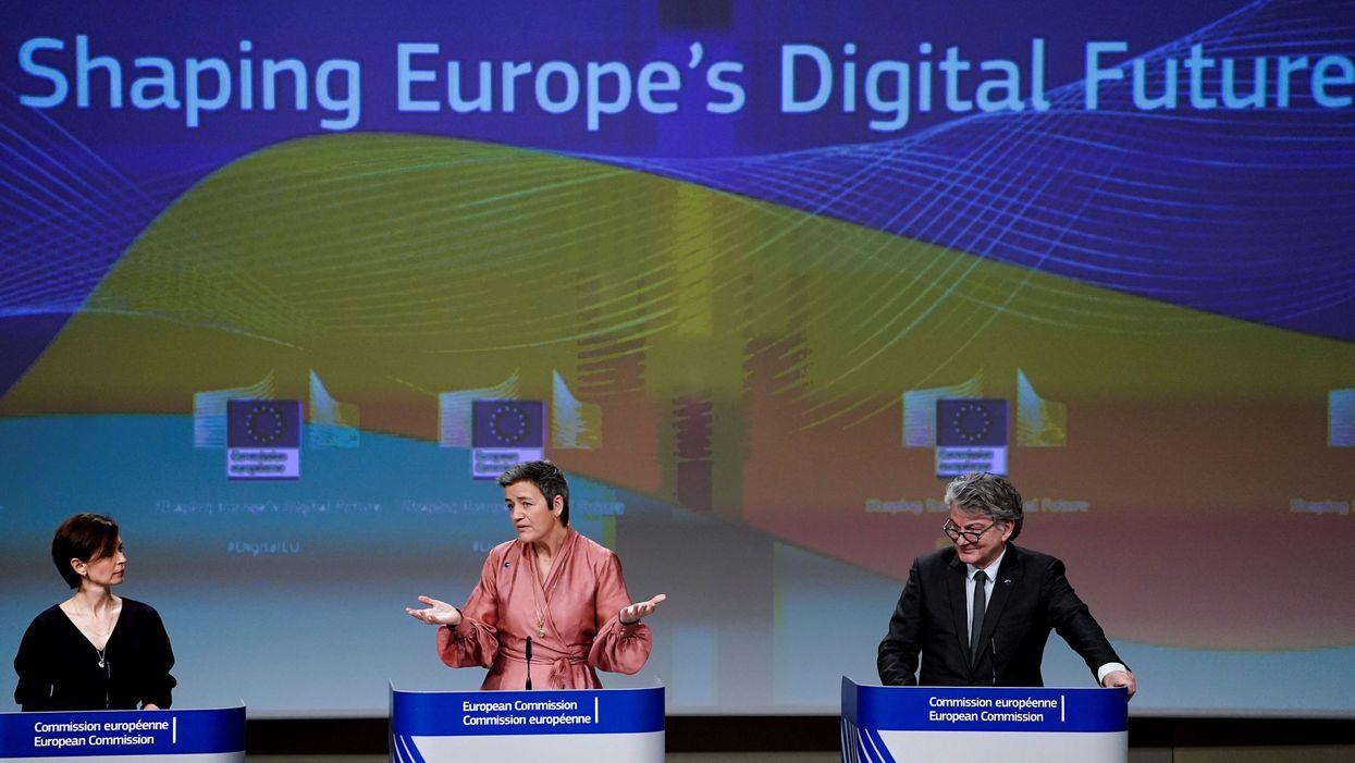 European Commission Executive Vice-President Margrethe Vestager