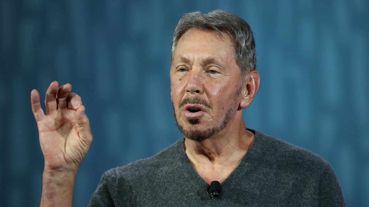 Oracle chair Larry Ellison