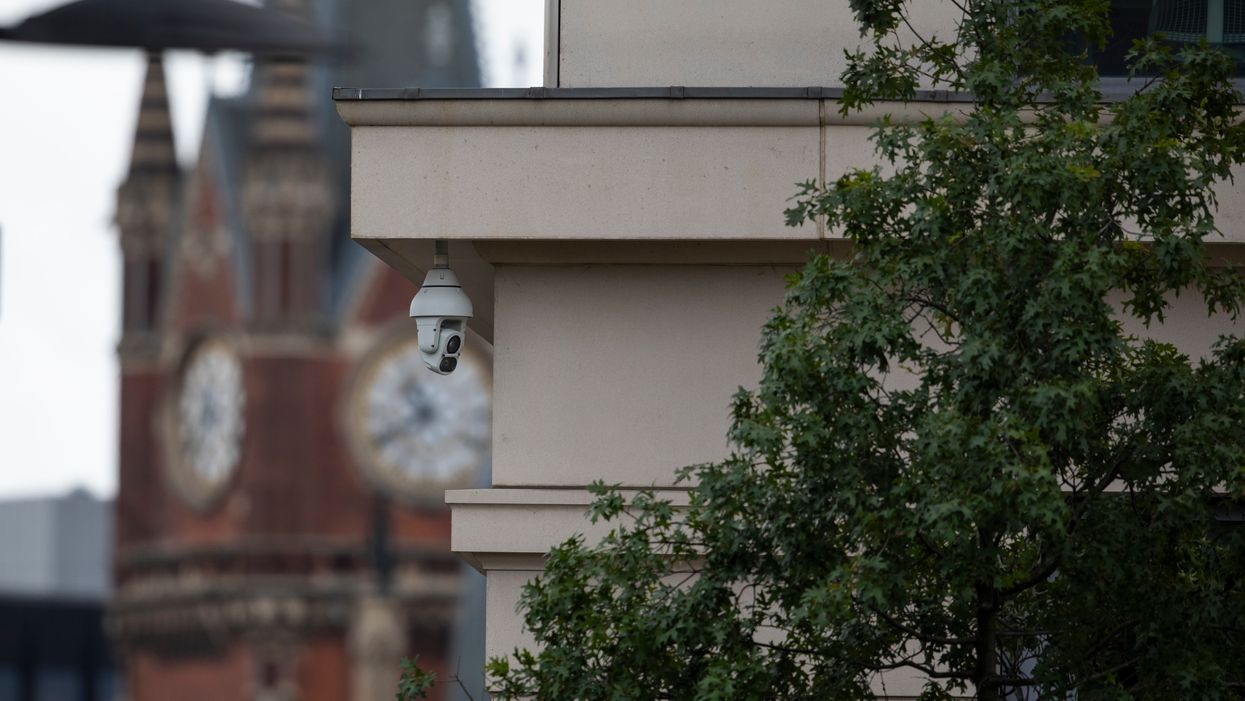 A video camera in London