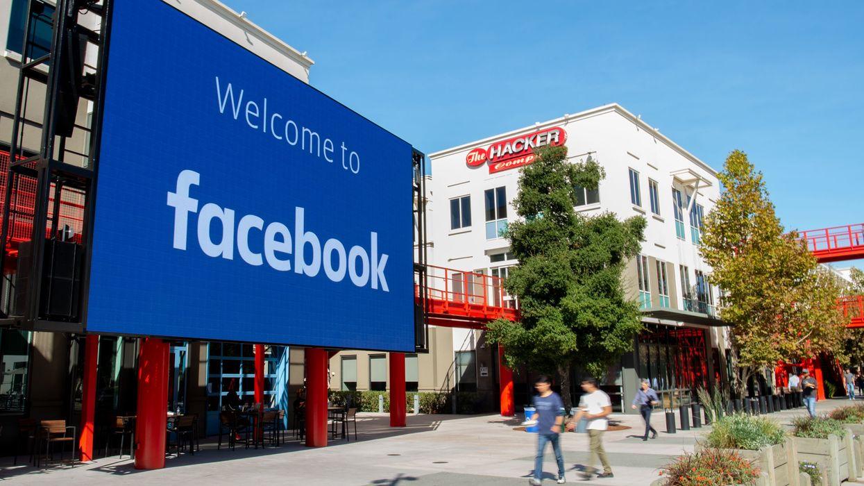 Facebook's Menlo Park, California campus