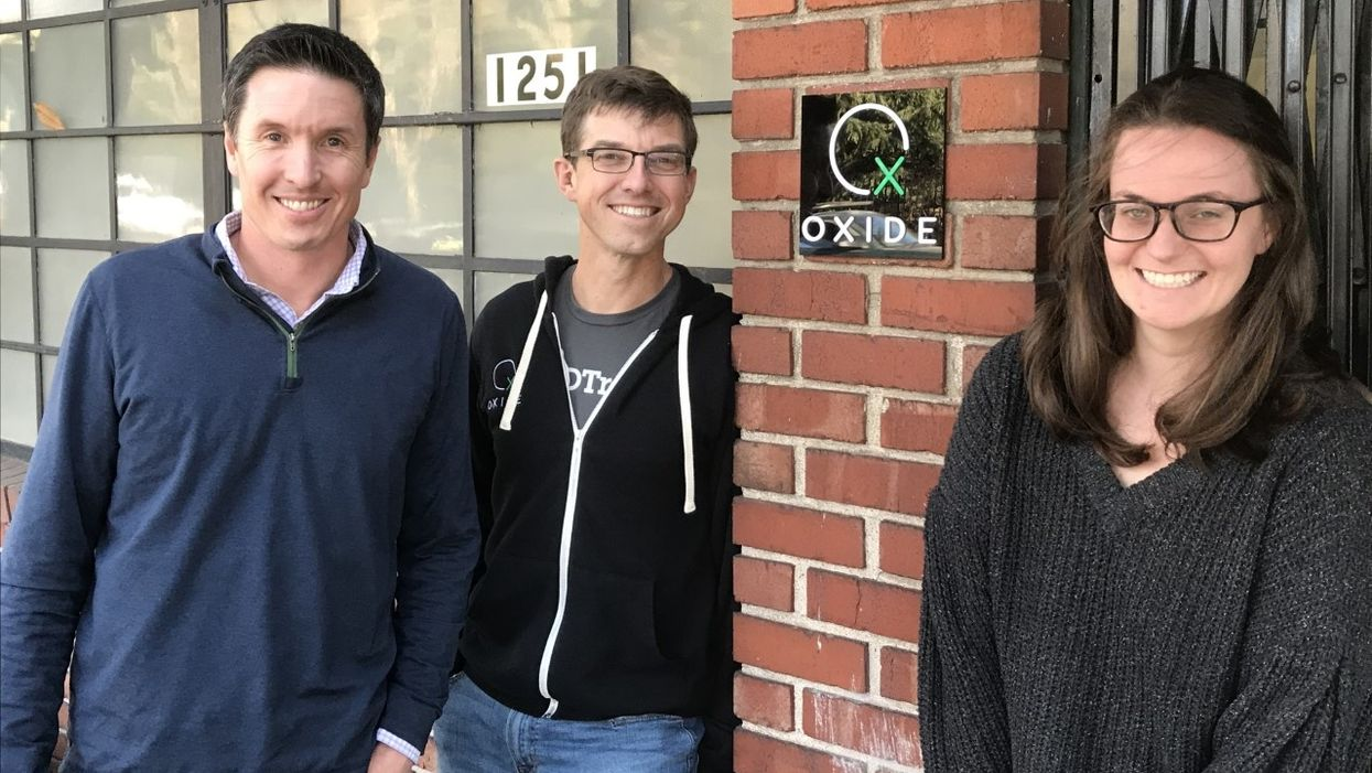 Oxide co-founders Steve Tuck, Bryan Cantrill and Jessie Frazelle