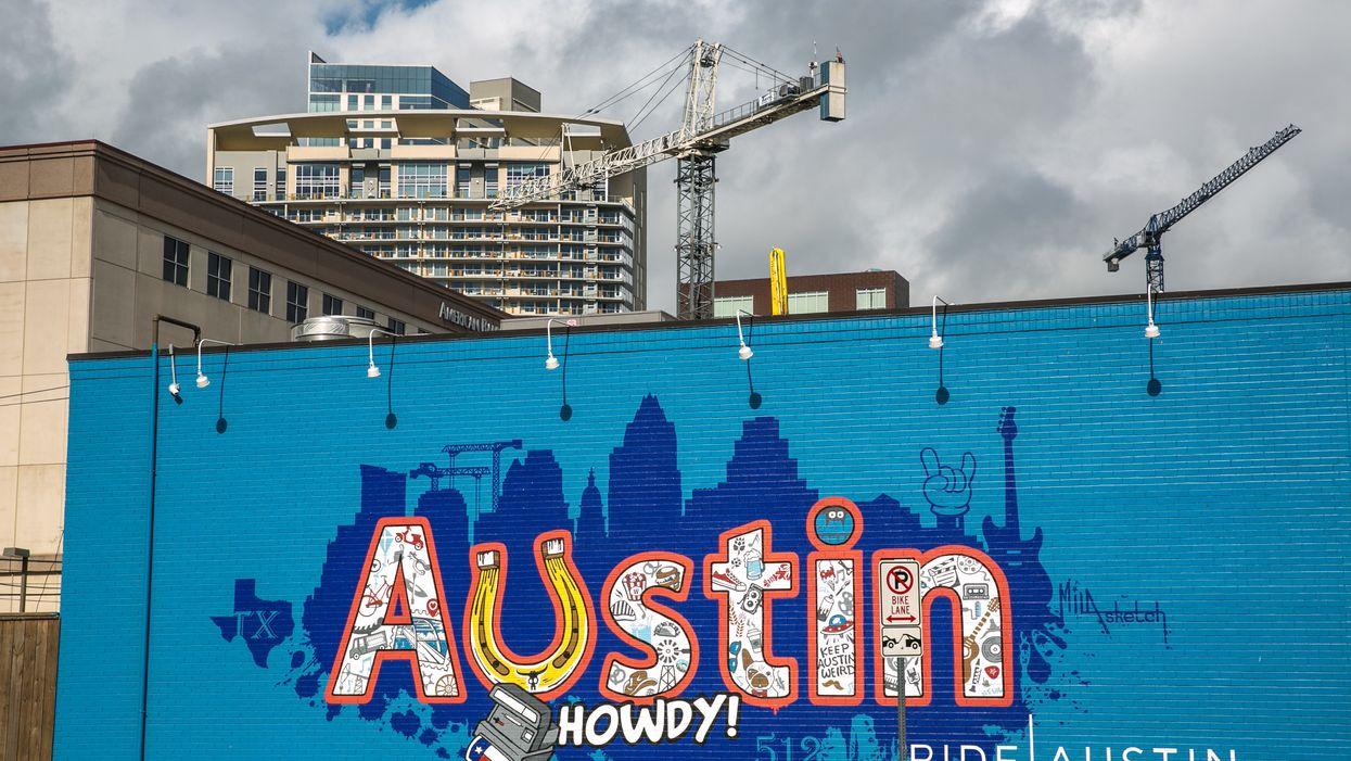A mural in Austin