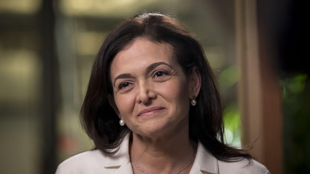 Facebook COO Sheryl Sandberg