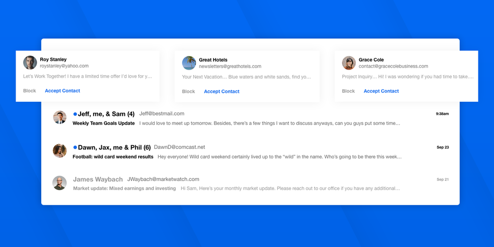 OnMail\u2019s Accept Contact dialog