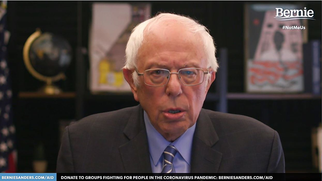 An image of Bernie Sanders