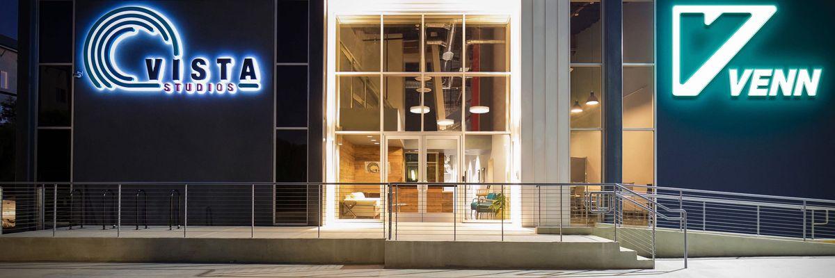 Exterior of Venn's LA studios