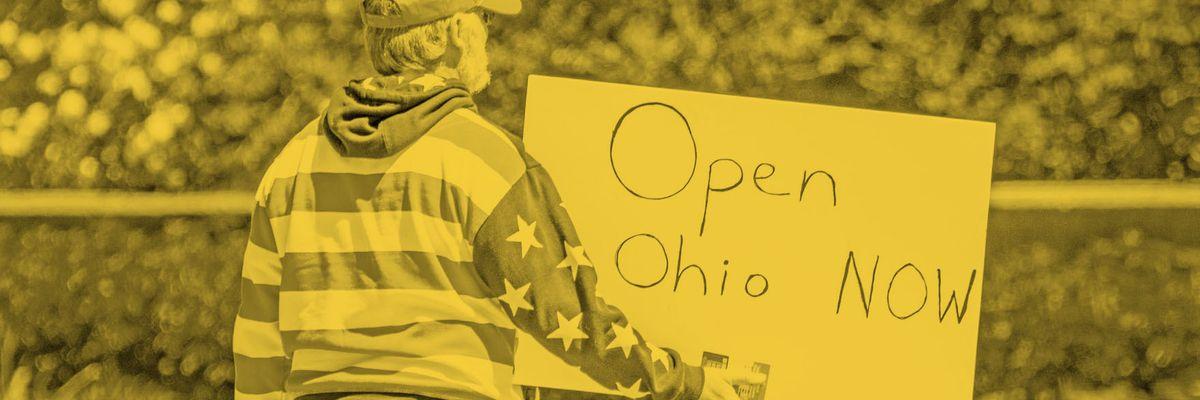 Ohio lockdown protestors