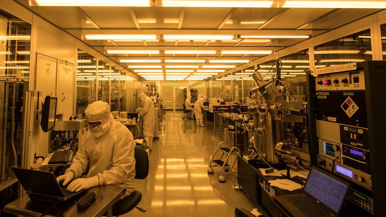 Inside Rigetti Computing's fabrication lab