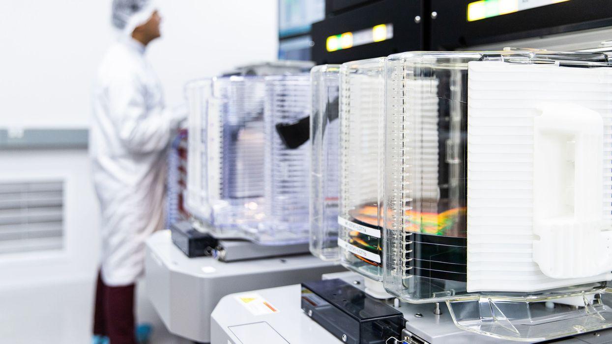 PsiQuantum's lab