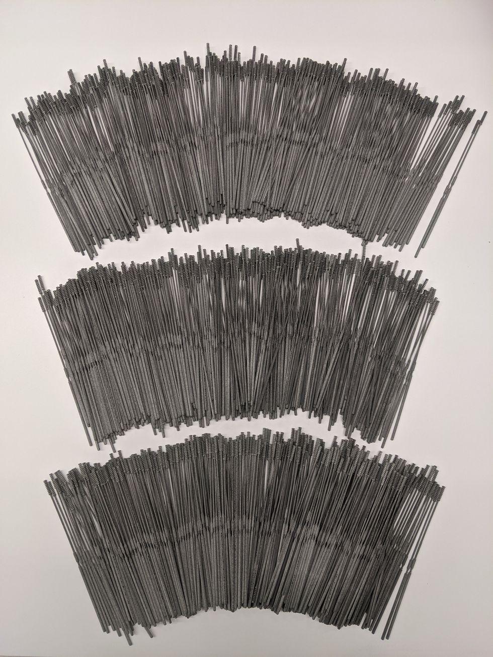 3D printed swabs