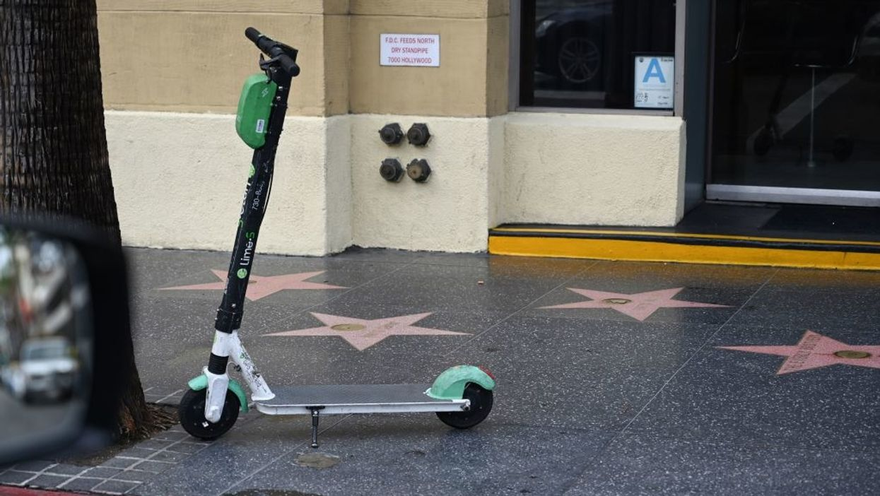 Lime scooter