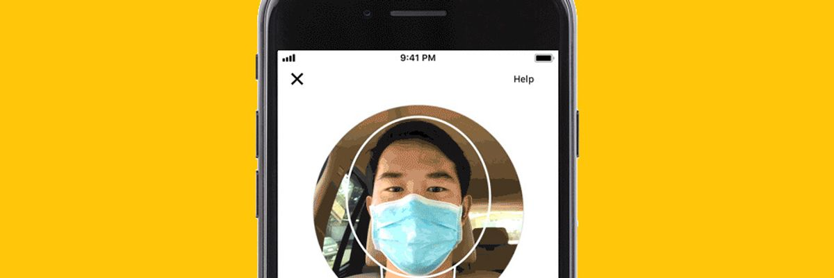 Uber mask