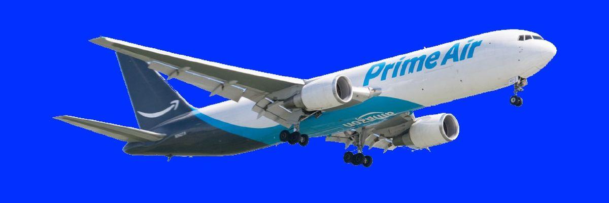 Amazon Prime Air plane