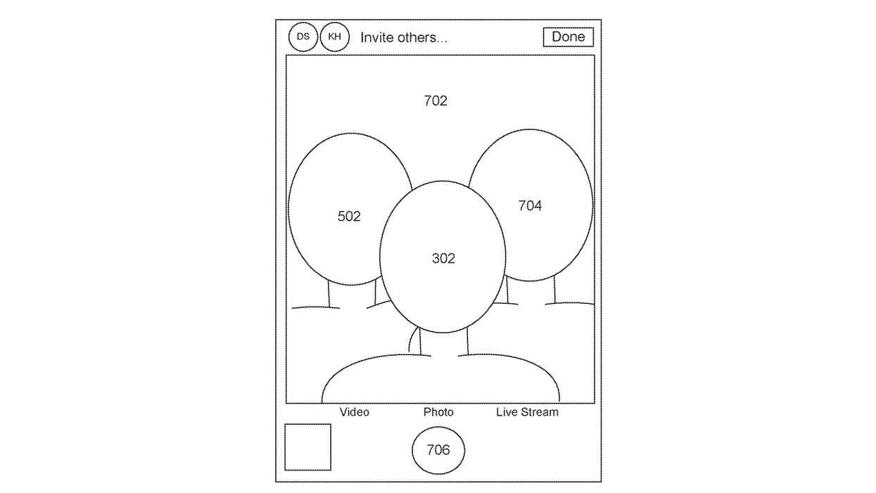 Apple selfie patent