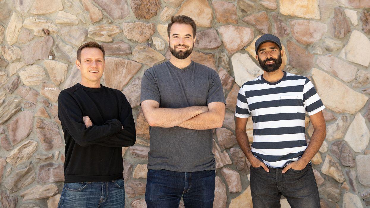 Substack cofounders Hamish McKenzie, Chris Best (CEO) and Jairaj Sethi