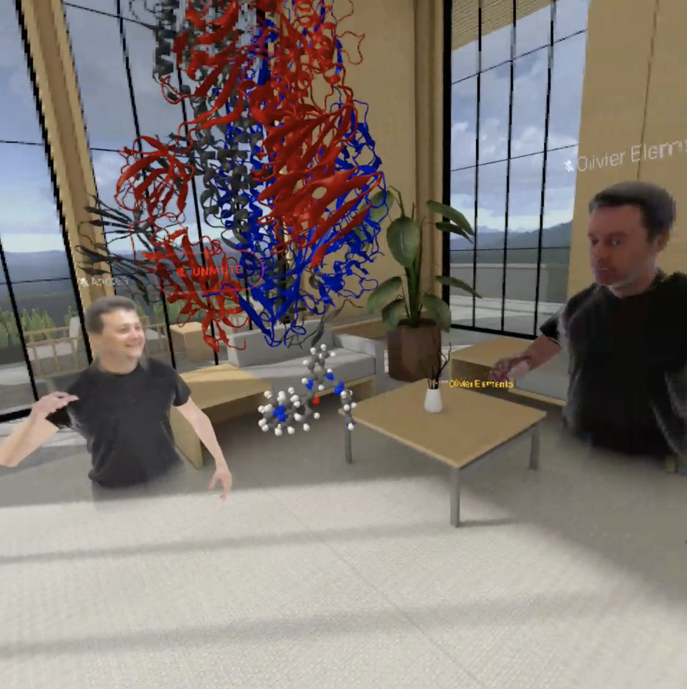 Cornell COVID meeting in VR