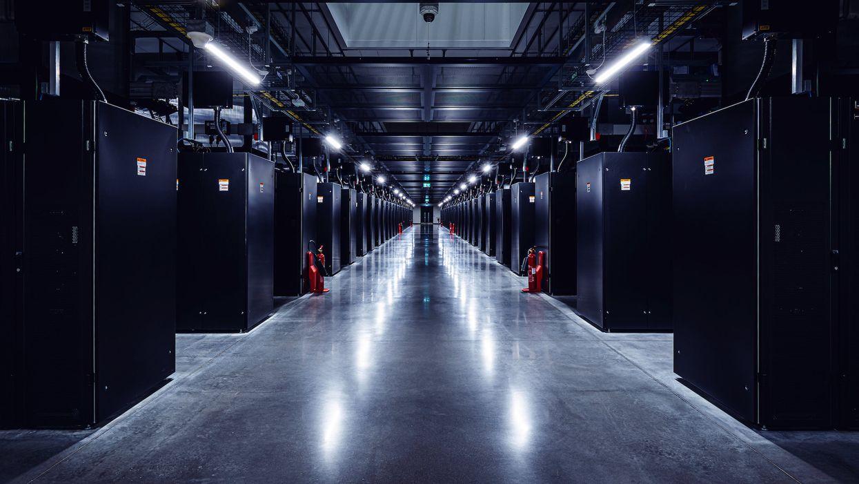 Facebook's data center in Odense, Denmark.