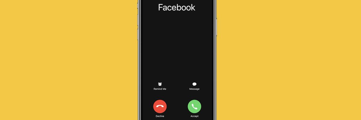 Facebook phone call