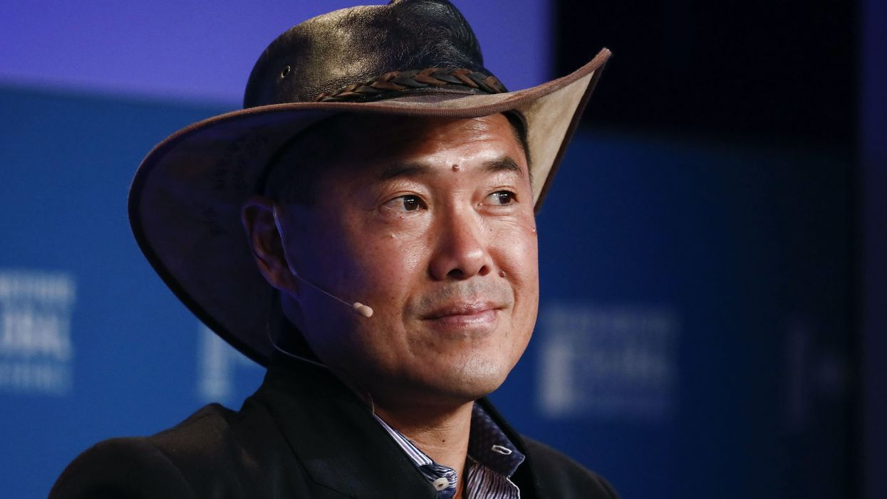 Bill Tai wearing a hat