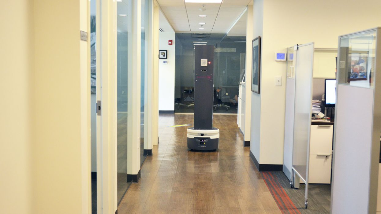 Meet the robots working to disinfect your office
