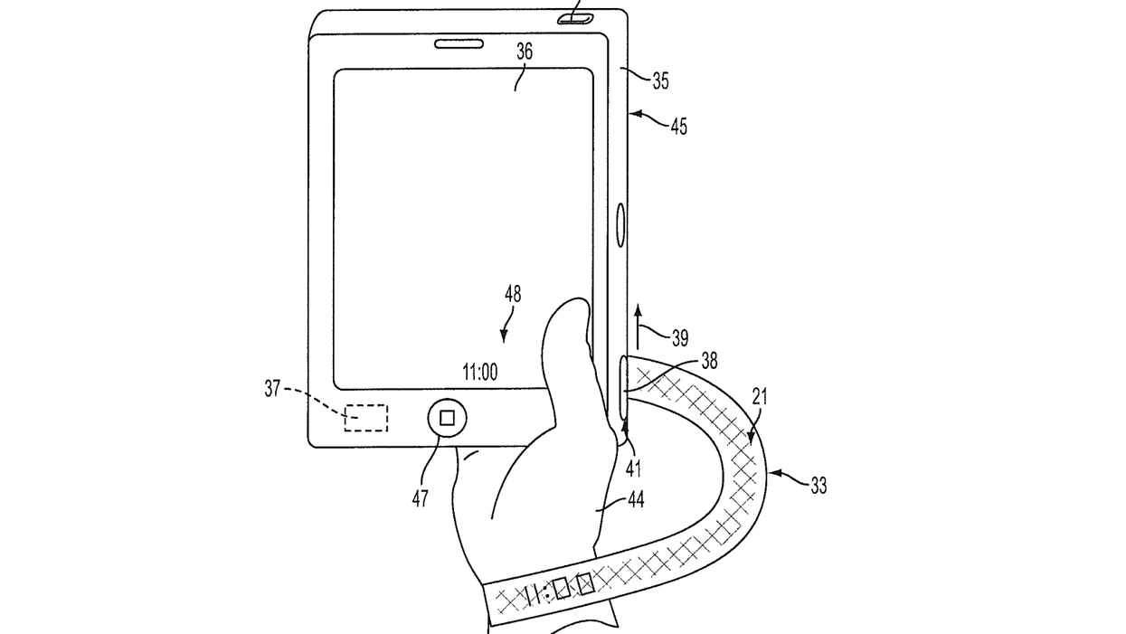 Apple's patent for fabric wearables