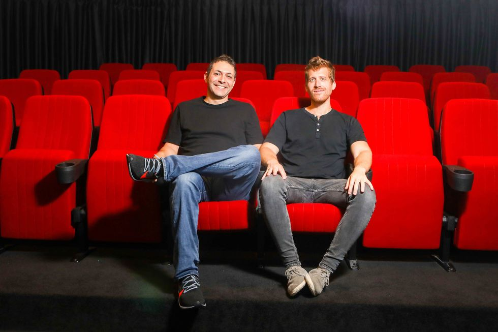 Monday co-founders Roy Mann and Eran Zinman.