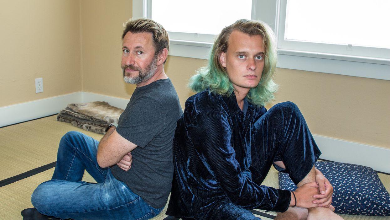 Koji founders Dmitry Shapiro and Sean Thielen.