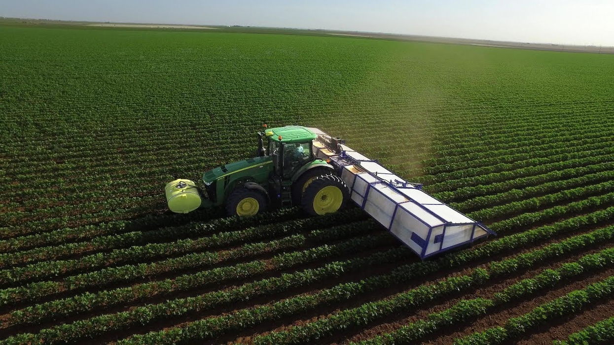 The future of farming is one giant A/B test on all the crops in the world at once