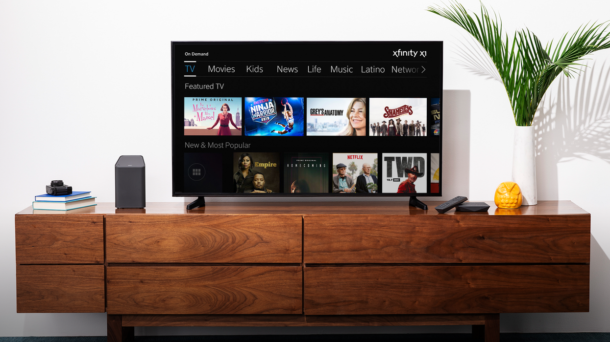 Comcast is looking to enter the smart TV wars