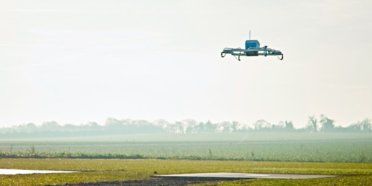 Amazon wants to use delivery drones to surveil your house