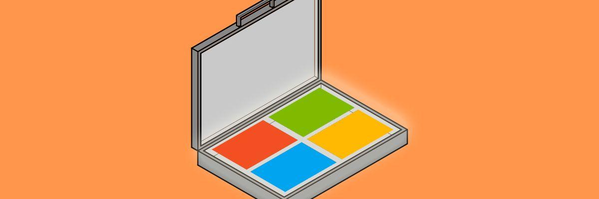 Windows briefcase